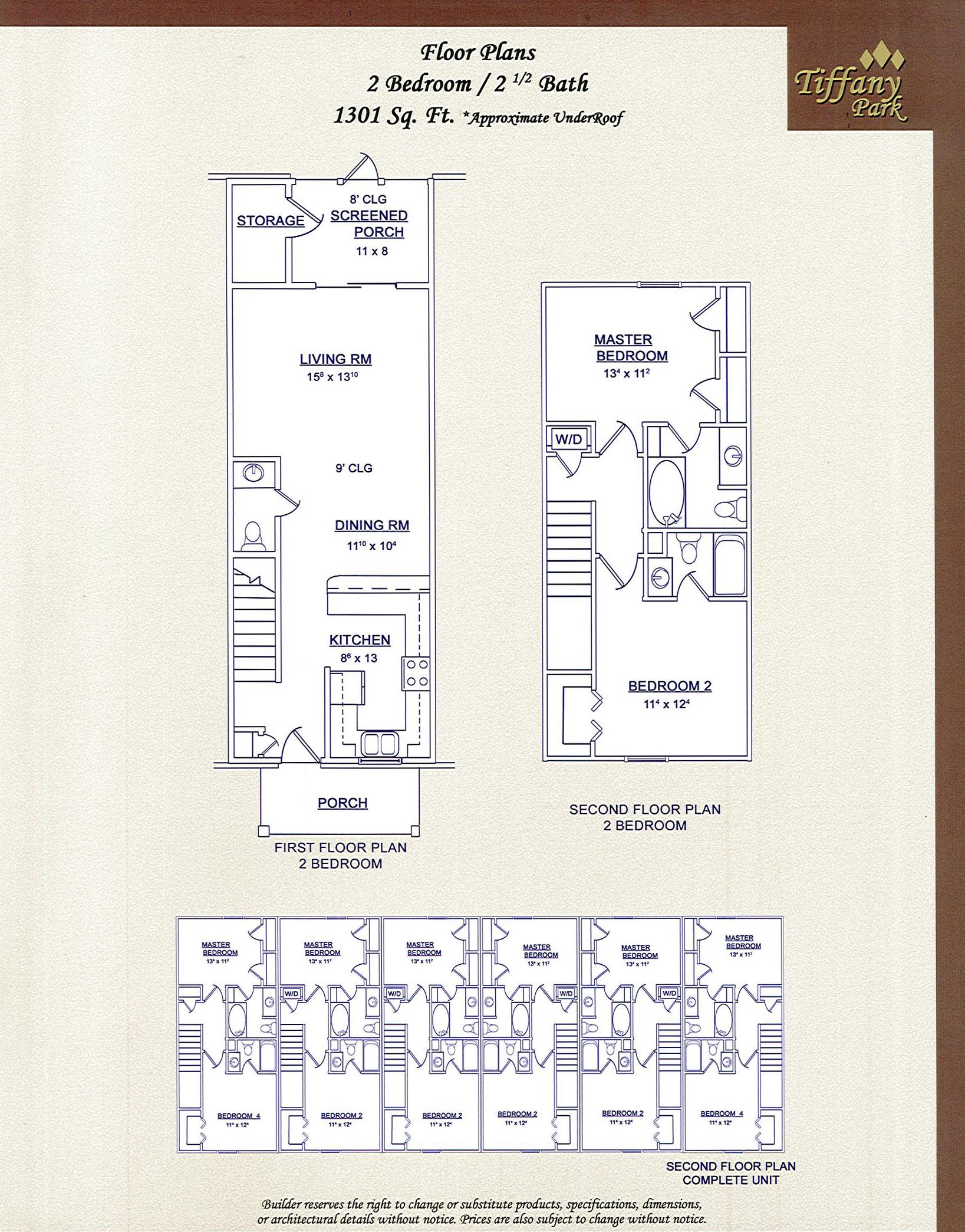 floor plan 2bdrm